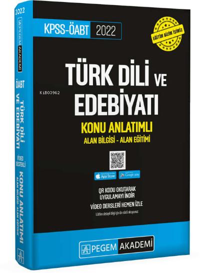 2022 KPSS ÖABT Türk Dili ve Edebiyat Konu Anlatımlı