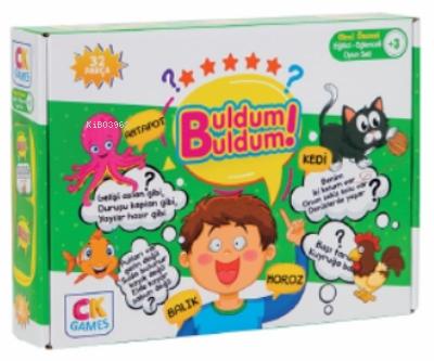 Buldum Buldum Okul Öncesi Oyun Seti +3 Yaş;Eğitici Öğretici 32 Parça Puzzle Oyun Seti