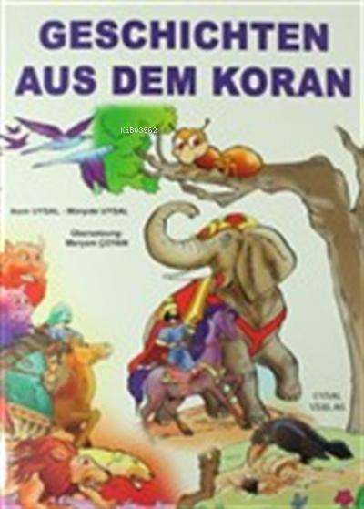 Kur'an'dan Dini Hikayeler - Geschichten Aus Dem Koran (Almanca) (Büyük Boy) (Kod: 162)