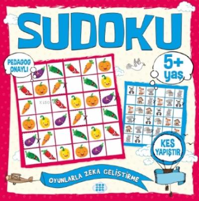 Çocuklar İçin Sudoku - Kes Yapıştır (5+ Yaş)