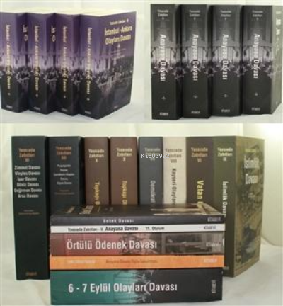 Yassıada Zabıtları Serisi (13 Kitap Takım)
