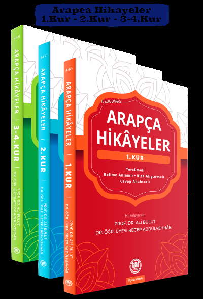 Arapça Hikayeler - 3 Kitap