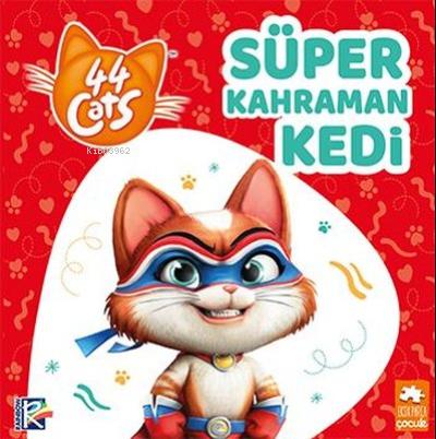 Süper Kahraman Kedi - 44 Cats