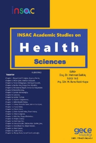 INSAC Academic Studies On Health Sciences