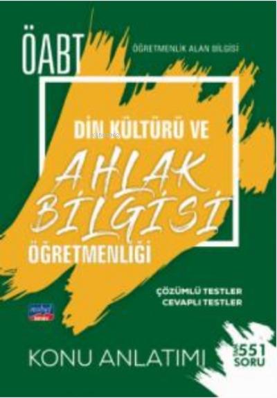 ÖABT Din Kültürü ve Ahlak Bilgisi Öğretmenliği - Öğretmenlik Alan Bilgisi - Konu Anlatımı
