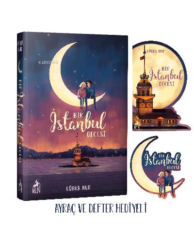Bir İstanbul Gecesi ( Ciltli );Ayraç ve Defter Hediyeli