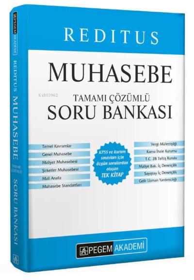 2022 KPSS A Grubu Muhasebe Soru Bankası