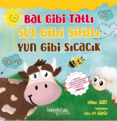 Bal Gibi Tatlı Süt Gibi Şifalı Yün Gibi Sıcacık, 3'lü Set