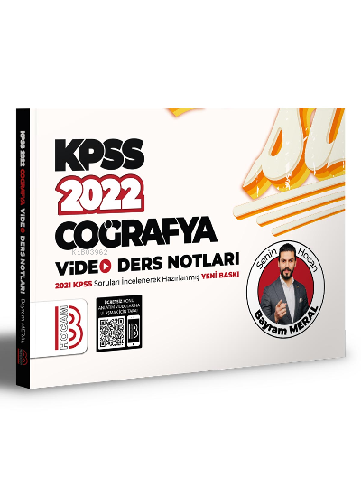 2022 KPSS Coğrafya Video Ders Notları