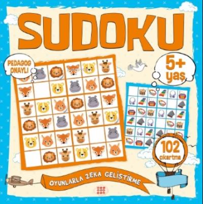 Çocuklar İçin Sudoku - Çıkartmalı (5+ Yaş)