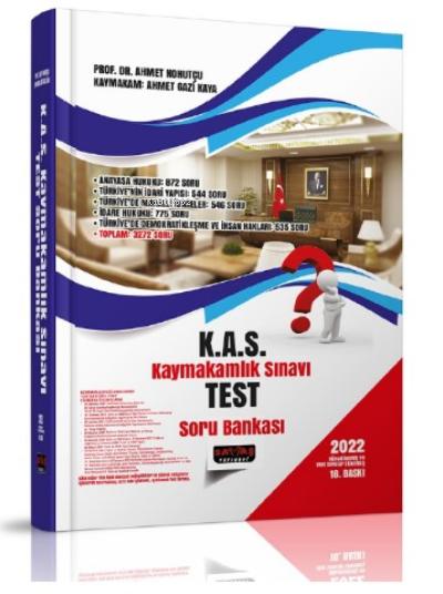 KAS Kaymakamlık Sınavı Test Soru Bankası 2022