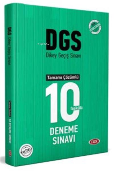 2021 Dgs Tamamı Çözümlü 10 Deneme Sınavı