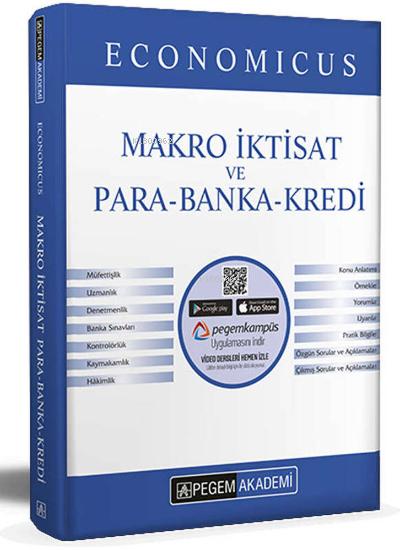 2022 KPSS A Grubu Economicus Makro İktisat ve Para-Banka-Kredi  Konu Anlatımı