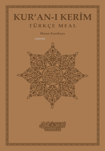 Kuranı Kerim Ve Türkçe Meali (Orta Boy)