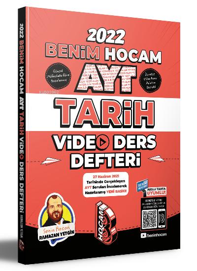 Benim Hocam Yayınları AYT Tarih Video Ders Notları Benim Hocam