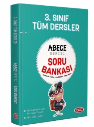 3. Sınıf Tüm Dersler Abece Serisi Soru Bankası;Matematik - Türkçe - Fen Bilimleri - Hayat Bilgisi