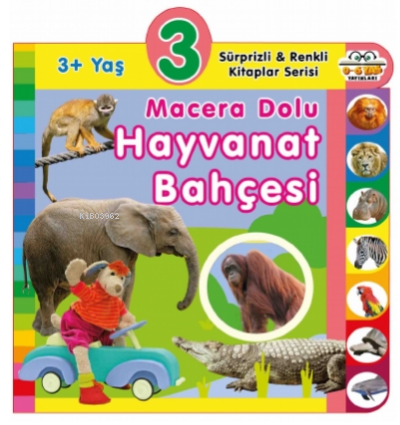 3+ Yaş - Macera Dolu Hayvanat Bahçesi