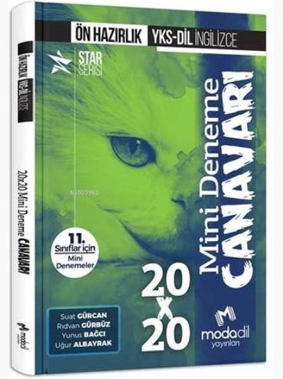 Modadil Yayınları YKS-DİL İngilizce Ön Hazırlık 20x20 Mini Deneme Canavarı