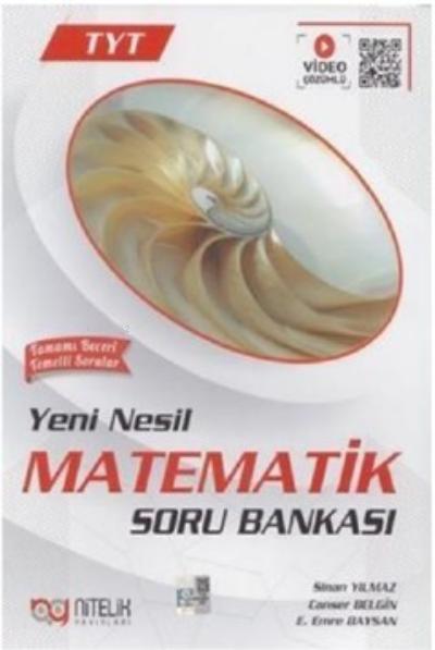 Nitelik Yayınları Tyt Yeni Nesil Matematik Soru Bankası