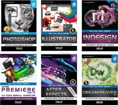 Adobe Grafik Tasarım Uzmanlığı Seti