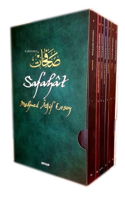 Safahat ( 7 Kitap - Kutulu );Osmanlıca, Latinize ve Günümüz Türkçesi