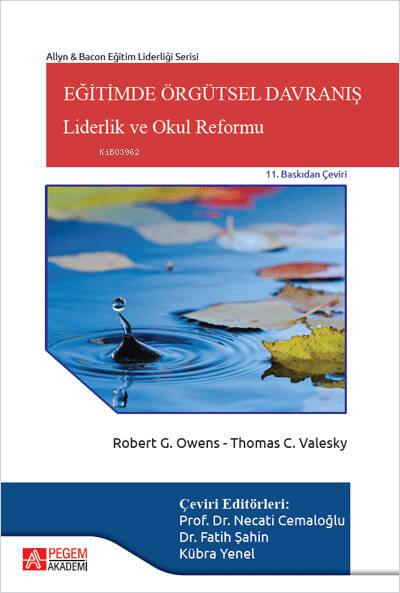 Eğitimde Örgütsel Davranış: Liderlik ve Okul Reformu