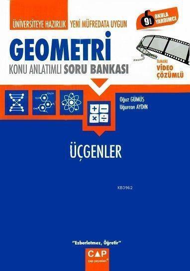 Çap Yayınları Üniversiteye Hazırlık Geometri Üçgenler Konu Anlatımlı Soru Bankası Çap