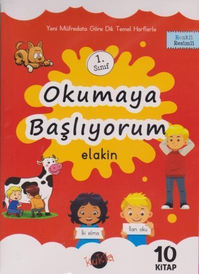 Okumaya Başlıyorum Elakin 1. Sınıf 10 Kitap  Kukla
