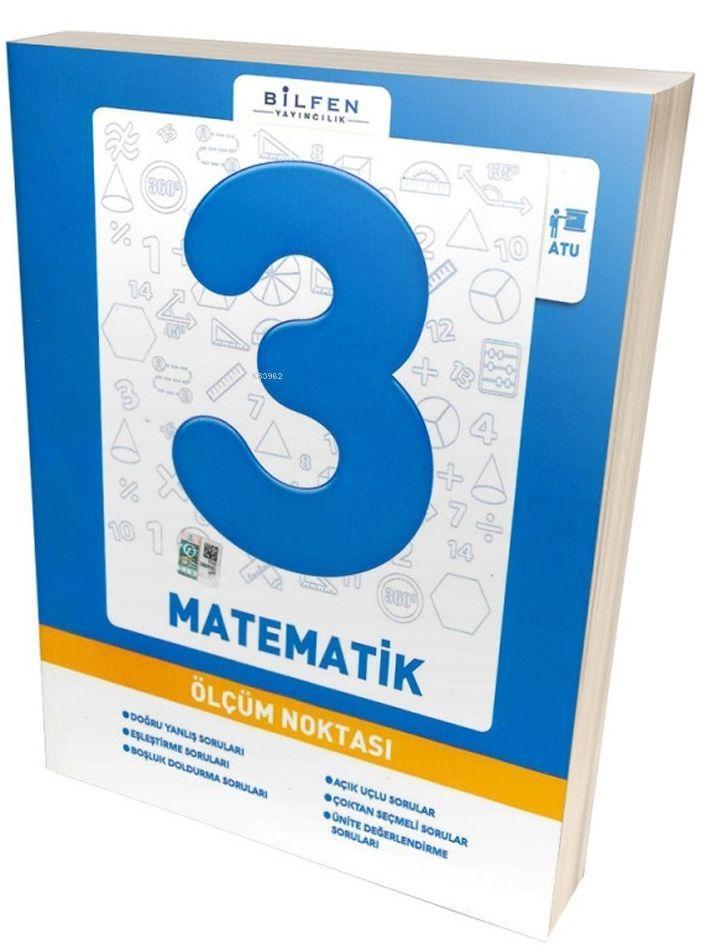 Bilfen Yayınları 3. Sınıf Matematik Ölçüm Noktası Bilfen