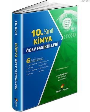 Aydın Kimya Ödev Fasikülleri 10.Sınıf