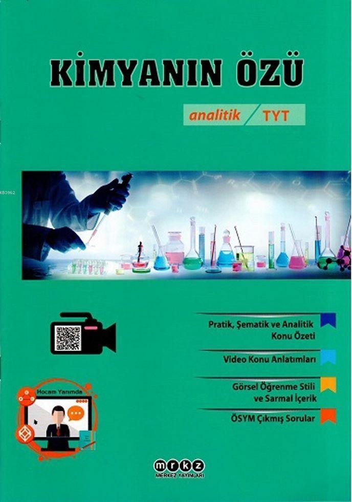 Merkez Yayınları TYT Analitik Kimyanın Özü Merkez
