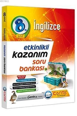 Çanta Yayınları 8. Sınıf LGS İngilizce Kazanım Soru Bankası Çanta