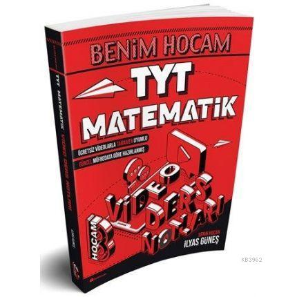 Benim Hocam Yayınları 2021 TYT Matematik Video Ders Defteri Benim Hocam