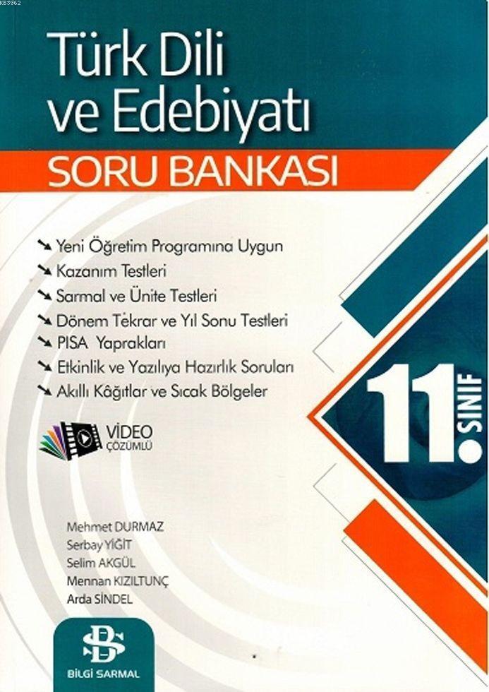 Bilgi Sarmal Yayınları 11. Sınıf Türk Dili ve Edebiyatı Soru Bankası Bilgi Sarmal