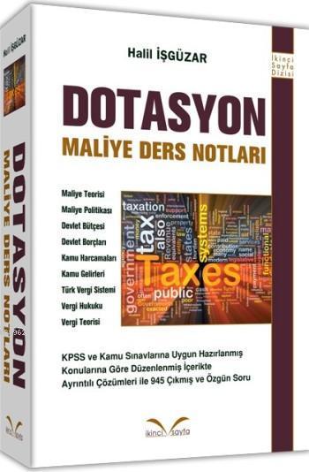 Dotasyon Maliye Ders Notları