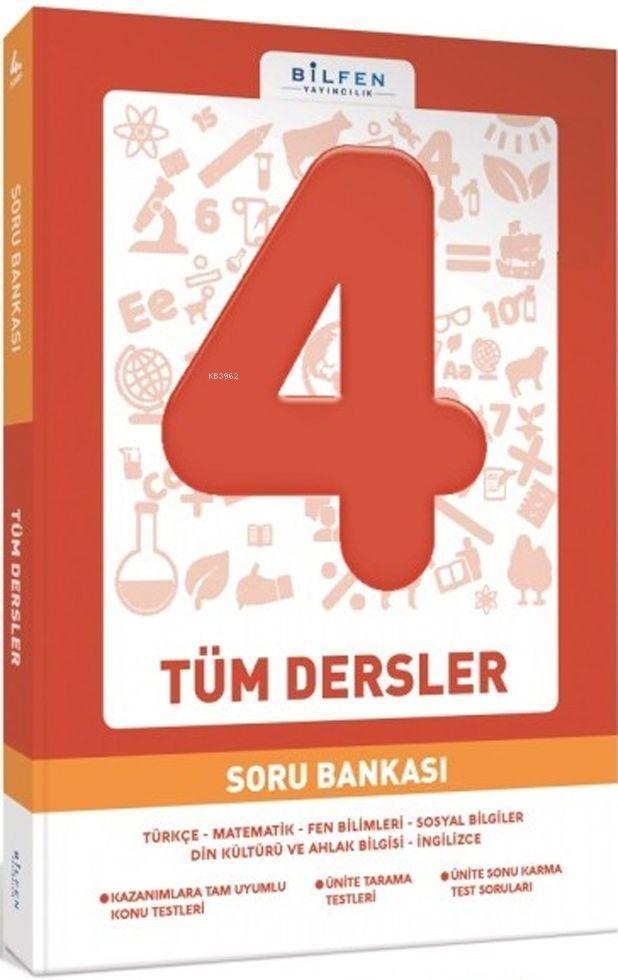 Bilfen Yayınları 4. Sınıf Tüm Dersler Soru Bankası Bilfen