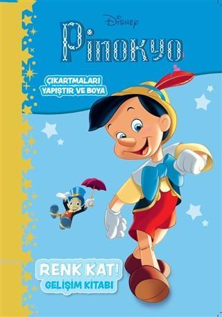 Disney Pinokyo; Renk Kat Gelişim Kitabı