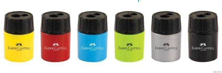 Faber-Castell Geniş Hazneli Çiftli Kalemtraş