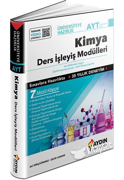 Aydın AYT Kimya Ders İşleyiş Modülleri