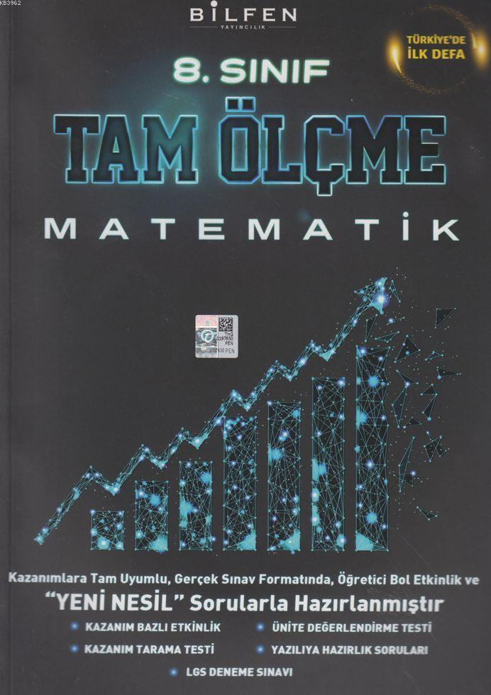 Bilfen Yayınları 8. Sınıf LGS Matematik Tam Ölçme Bilfen