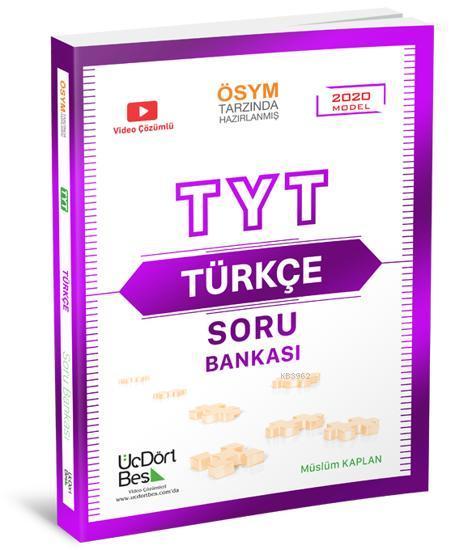 Üç Dört Beş Yayınları TYT Türkçe Soru Bankası 2021 Model Üç Dört Beş
