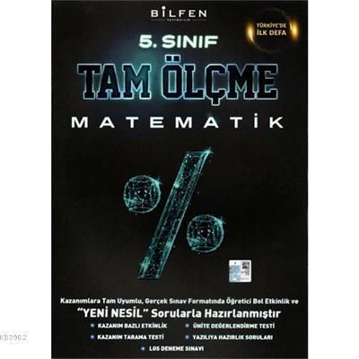 Bilfen Yayıncılık 5. Sınıf Matematik Tam Ölçme Yeni