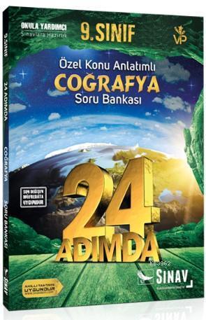 Sınav Dergisi Yayınları 9. Sınıf Coğrafya 24 Adımda Özel Konu Anlatımlı Soru Bankası Sınav Dergisi