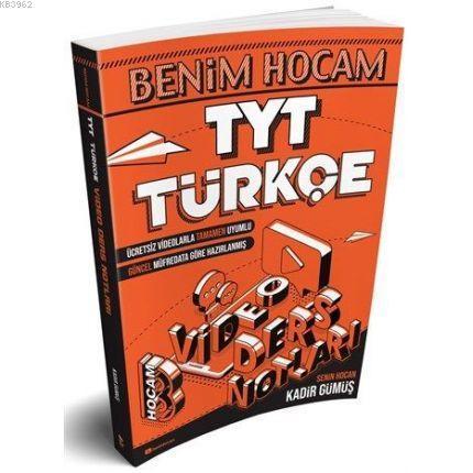 Benim Hocam Yayınları TYT Türkçe Video Ders Notları Benim Hocam