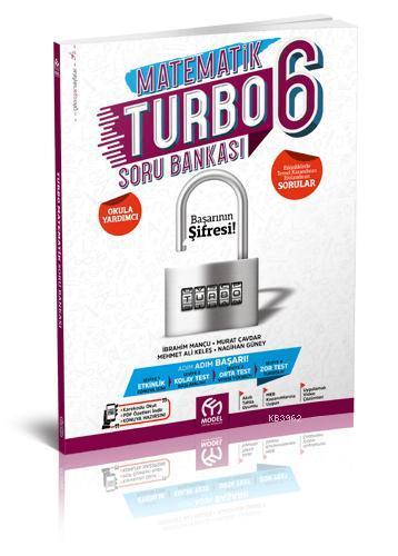 Model Eğitim Yayınları 6. Sınıf Matematik Turbo Soru Bankası Model Eğitim