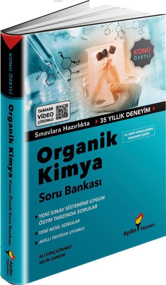 Aydın Yayınları Organik Kimya Soru Bankası Aydın