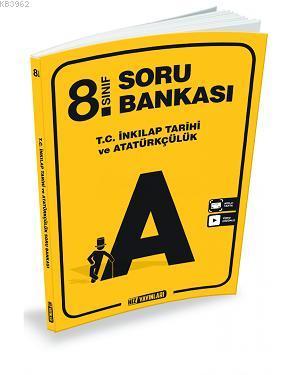 Hız Yayınları T.C İnkılap Tarihi Ve Atatürkçülük Soru Bankası