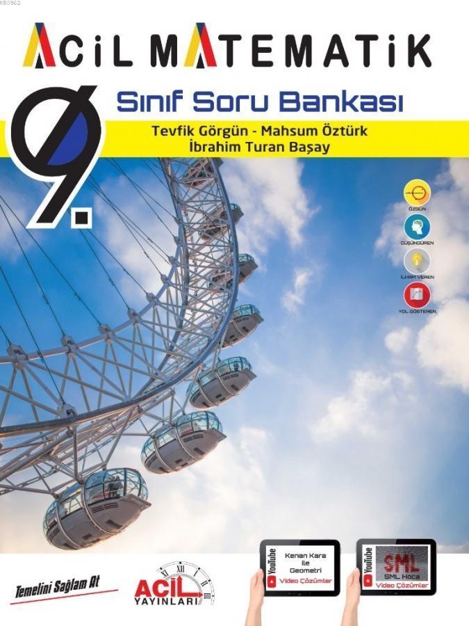 ACİL 9 MATEMATİK SORU BANKASI