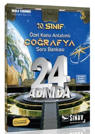 Sınav Dergisi Yayınları 10. Sınıf Coğrafya 24 Adımda Konu Anlatımlı Soru Bankası Sınav Dergisi