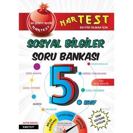 Nartest Yayınları 5. Sınıf Süper Zeka Sosyal Bilgiler Soru Bankası Nartest